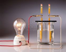 Image result for science experiment electrolyte