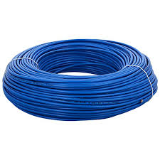 Polycab Housewire 1 Sqmm 1 Core Fr Pvc Insulated Flexible Cable Blue Length 300m