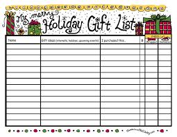 Christmas List Maker Printable Christmas List Maker Printable Microsoft Templates Checklist Best 1