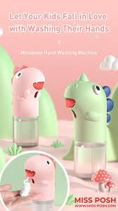 Cute Automatic <b>Hand</b> Soap Dispenser for Kids www.Miss-Posh.com ...