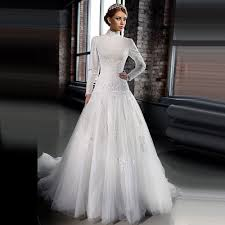 Find More Wedding Dresses Information About Muslim Dropped Waist