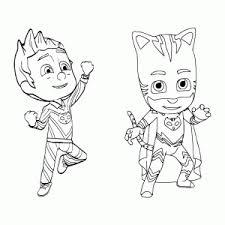Pyjamahelden Pj Masks Kleurplaten Leuk Voor Kids