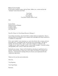 Letters Cover Letter Format Cover Letter Format For Job In Canada