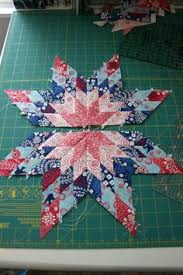 Pinwheels in the Park Quilt Pattern | Star Quilts | Pinterest & I've always wanted to learn how to make star quilts, and this tutorial Adamdwight.com