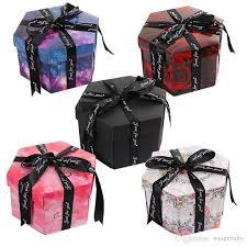 diy surprise love explosion box gift explosion 38 secret for anniversary sbook diy photo al new year gift unique gift wrap unique gift wrap paper
