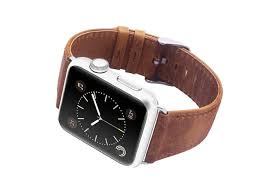 a stylish leather apple watch band for just 5
