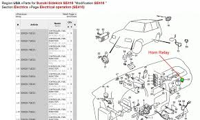 starter wiring diagram 1994 wirdig geo metro horn relay location geo engine image for user manual