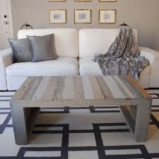 Modern Grey Pallet Coffee Table  Raka Mod  Touch Of ModernPallet Coffee Table For Sale