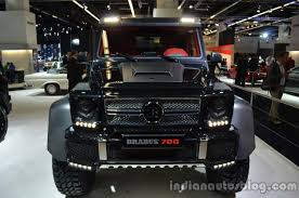 Front of the Brabus B63S-700 6x6 - Indian Autos blog