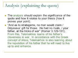 Odyssey Quotes Interesting Homer Odyssey Quotes Managementdynamics