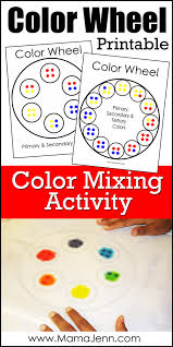 🏆 create custom raffles and random prize or name draws. Printable Color Wheel Activity Mama Jenn
