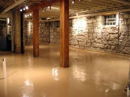bathroom in basement without breaking concrete how to install a basement