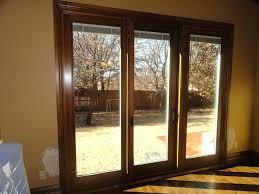 3 panels sliding door triple sliding glass doors within door decor patio doors 3 panels sliding