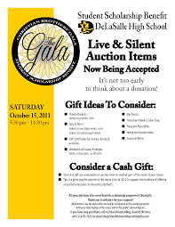 silent auction program template silent auction flyer template asafon ggec co