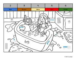 kindergarten color by quany coloring book january themes