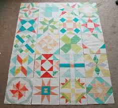 Meet the Vintage Quilt Revival Quilts: Sampler On Point ~ Fresh ... & Meet the Vintage Quilt Revival Quilts: Sampler on Point by Fresh Lemons  Quilts Adamdwight.com