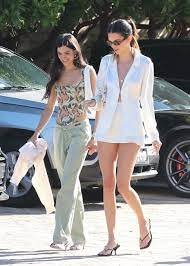 Kendall Jenner Wears White, Barely ...