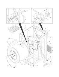 Frigidaire model aeq8000fs0 residential dryer genuine parts