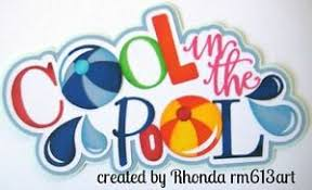 Cool Title Pages Details About Cool In The Pool Summer Paper Piecing Title Scrapbook Pages By Rhonda Rm613art