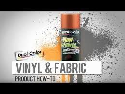 Duplicolor Vinyl And Fabric Paint Color Chart Dupli Color How To Vinyl And Fabric