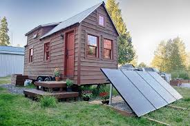 solar powered tiny house.  Solar SolarPowered Tiny House Intended Solar Powered The