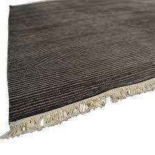 room board room board talia charcoal grey rug used