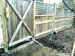 installing fence posts how to set fence posts set fence posts in concrete installing fence posts