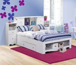 Nexera Pixel Full Low Bookcase Storage Bed N-316303SET1