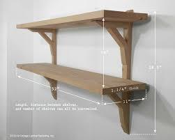 reclaimed wood bookcase shelving unit rustic modern barn wood