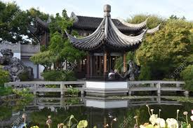 lan su chinese garden in chinatown in portland oregon stock photo 115697604