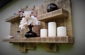 floating shelf display wall storage unit shelves wood timber wall art light oak