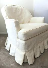 rocking chair slipcover shabby chic recliner armchair couch covers for slipcovers swivel glider