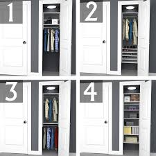 closet organizer ideas. Fine Closet 2foot Closet In Organizer Ideas C