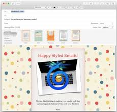 Outlook Mac Email Template How To Use Stationery In Mail For Mac To Stylize