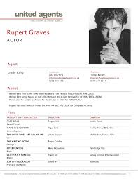 Free Actor Resume Template Cool Free Acting Resume Template For Study Actor Pertaining To 48