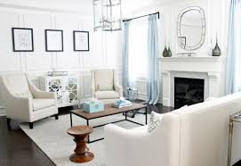 ... Living Room, Eames Walnut Stool In The Living Room Contemporary Living  Room White Living Room ...