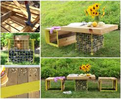 outdoor pallet furniture ideas. VIEW IN GALLERY Outdoor-Pallet-Furniture-DIY-ideas-and-tutorials4 Outdoor Pallet Furniture Ideas T