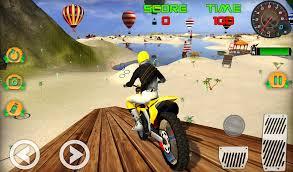 motocross beach game bike stunt racing