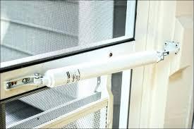 how to install a larson storm door screen door closer installation install screen door storm door