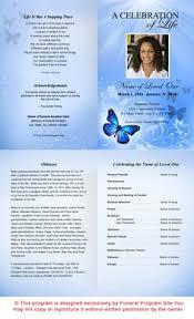 free funeral program templates 65 best memorial legacy program templates images funeral program