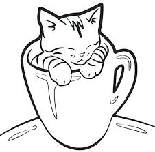 Kitty Cat Coloring Page Cats And Kitten Coloring Pages Kitty Cat