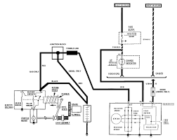 alternator wiring diagram chevy wiring diagram and hernes gm 1 wire alternator wiring diagram auto schematic