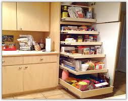Black Kitchen Storage Cabinets