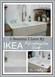 Bathroom Apron Sink Ikea Farmhouse Sink The Everyday Home