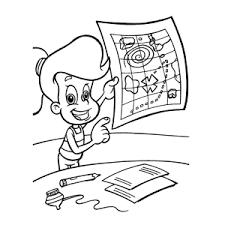 Leuk Voor Kids Jimmy Neutron Kleurplaten