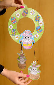 Easter Wreath Coloring Pages 20 Must Follow Moms Easter Wreaths