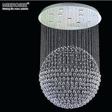 crystal chandelier ball modern clear crystal chandelier ball shape spiral sphere re fitting chandeliers mounted lamp