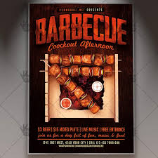 Barbecue Flyers Barbecue Premium Flyer Psd Template