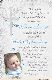 Catholic Baptism Invitations How To Make Baptismal Invitation Sloppycans How To Make Baptismal