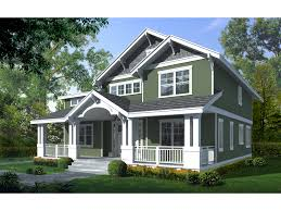 exquisite craftsman two story with deep covered porch